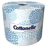 Roll of Kleenex Cottonelle Bathroom Tissue